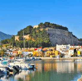 The Castle of Denia